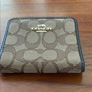 Coach wallet.